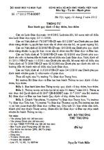 Thông tư số 17/2012/TT-BGDĐT ban hành quy định về dạy thêm, học thêm