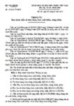 Thông tư số 15/2012/TT-BTC