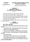Nghị định số 38/2012/NĐ-CP quy định chi tiết thi hành một số điều của Luật an toàn thực phẩm