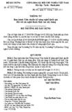 Thông tư số 04/2011/TT-BXD
