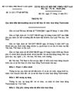 Thông tư số 21/2011/TT-BVHTTDL quy định điều kiện hoạt động của cơ sở thể thao tổ chức hoạt động Taekwondo