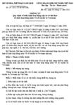 Thông tư số 14/2011/TT-BVHTTDL quy định về điều kiện hoạt động của cơ sở thể thao tổ chức hoạt động môn Võ cổ truyền và Vovinam