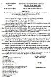 Thông tư số 86/2012/TT-BTC ban hành quy chuẩn kỹ thuật quốc gia về dự trữ Nhà nước đối với vật liệu nổ công nghiệp - thuốc nổ Trinitrotoluen