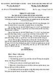 Thông tư liên tịch số 03/2012/TTLT-BLĐTBXH-BYT-BCA quy định chi tiết và hướng dẫn thi hành một số điều của Nghị định số 94/2010/NĐ-CP