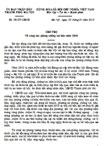Chỉ thị số 08/CT-UBND của UBND TP Hà Nội về công tác phòng chống lụt bão năm 2010