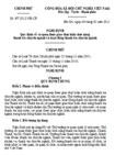 Nghị định số 07/2012/NĐ-CP quy định về cơ quan được giao thực hiện chức năng thanh tra chuyên ngành và hoạt động thanh tra chuyên ngành