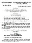 Quyết định về việc quy định tiêu chuẩn, định mức và chế độ quản lý, sử dụng trụ sở làm việc của Cơ quan Việt Nam ở nước ngoài