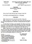 Nghị định số 13/2012/NĐ-CP của Chính phủ ban hành Điều lệ Sáng kiến