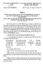Thông tư số 19/2008/TT-LĐTBXH sửa đổi, bổ sung thông tư số 03/2007/tt-blđtbxh