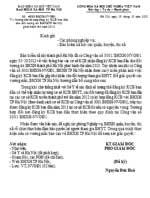 Công văn số 4033/BHXH- NVGĐ1 hướng dẫn bổ sung đăng ký kcb ban đầu cho đối tượng do bhxh tp hà nội phát hành thẻ năm 2013
