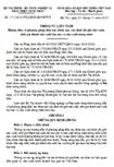 Thông tư liên tịch số 171/2010/TTLT-BTC-BNNPTNT
