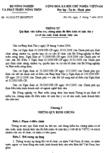 Thông tư số 41/2010/TT-BNNPTNT