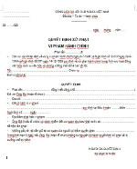 Quyết định xử phạt vi phạm hành chính (mẫu 05)