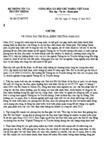 Chỉ thị 61/2012/CT-BTTTT