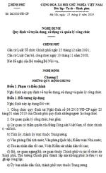 Nghị định số 24/2010/NĐ-CP quy định về tuyển dụng, sử dụng và quản lý công chức