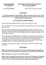 Quyết định 19/2012/QĐ-UBND của UBND tỉnh Thái Bình quy định chế độ miễn, giảm tiền sử dụng đất, tiền thuê đất đối với cơ sở thực hiện xã hội hóa của tỉnh thái bình