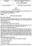 Luật dân quân tự vệ số 43/2009/QH12