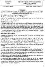 Nghị định 105/2012/NĐ-CP về tổ chức lễ tang cán bộ, công, viên chức