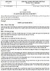 Luật Quản lý nợ công số 29/2009/QH12