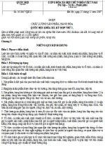 Luật chất lượng sản phẩm, hàng hóa số 05/2007/QH12