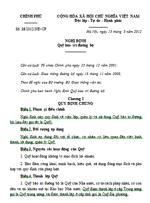 Nghị định số 18/2012/NĐ-CP quỹ bảo trì đường bộ