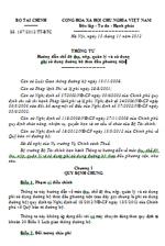 Thông tư số 197/2012/TT-BTC chế độ thu, nộp, quản lý và sử dụng phí sử dụng đường bộ theo đầu phương tiện