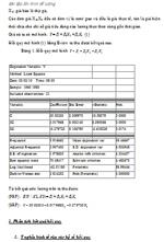 Bài tập lớn môn Kinh tế lượng tuyển tập đề thi kinh tế lượng