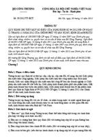 Thông tư số 39/2012/TT-BCT quy định của chính phủ về sản xuất, kinh doanh rượu