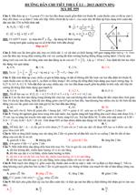Đề thi thử Đại học môn Vật lý năm 2013 - Đại học Khoa học tự nhiên Hà Nội đề thi thử đại học năm 2013