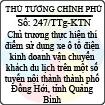 Công văn 247/2013/TTg-KTN