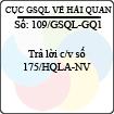 Công văn 109/2013/GSQL-GQ1
