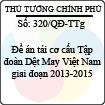 Quyết định 320/2013/QĐ-TTg