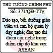 Quyết định 371/2013/QĐ-TTg