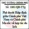 Quyết định 1861/QĐ-TTg