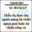 Nghị quyết 68/NQ-CP