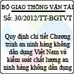 Thông tư số 30/2012/TT-BGTVT