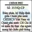 Nghị quyết 35/NQ-CP