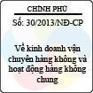 Nghị định số 30/2013/NĐ-CP
