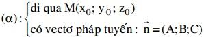 Ôn thi đại học môn Toán chuyên đề hình học giải tích trong không gian Oxyz