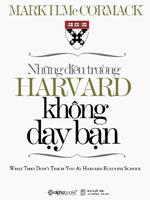 Những điều không dạy tại Harvard ebook định dạng epub/prc