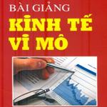Bài giảng Kinh tế học vi mô tài liệu học môn kinh tế học vi mô