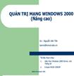 Giáo trình quản trị mạng Windows nâng cao
