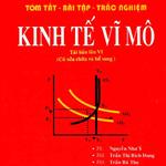Bài tập trắc nghiệm Kinh tế vĩ mô tài liệu học kinh tế vĩ mô