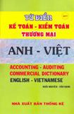 Từ điển Kế toán - Kiểm toán Thương mại Anh - Việt
