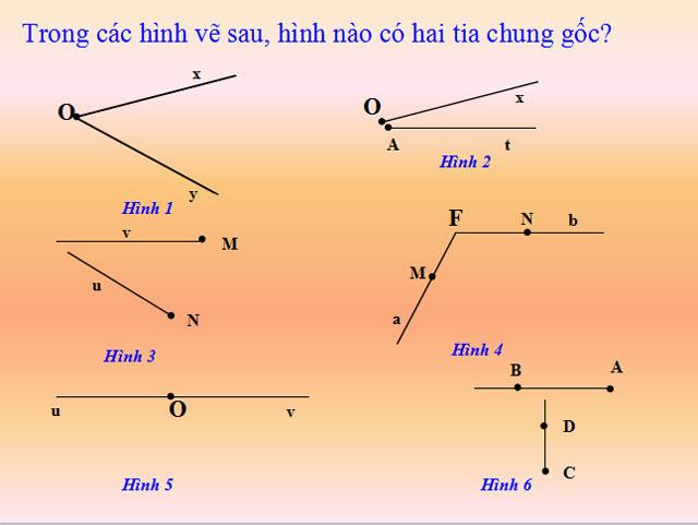 Bài giảng Hình học 6
