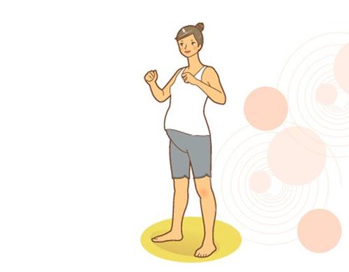 Mẹ và bé: Bài thể dục cực dễ lại tốt cho bà bầu The-duc-ba-bau10