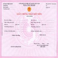 Giấy chứng nhận đăng ký kết hôn