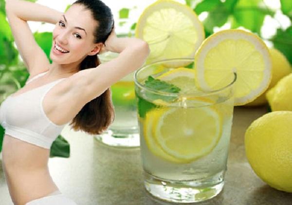 Thực đơn giảm cân khoa học trong 7 ngày với nước chanh