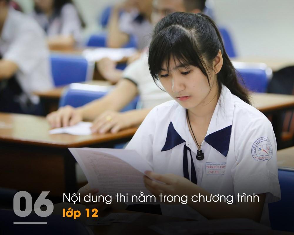 Thi THPT quốc gia 2017: 10 điểm mới đáng chú ý