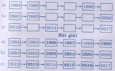 Giải bài tập trang 95, 96 SGK Toán 3